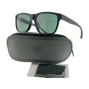 EA4035F-501771 Men's Black Frame Sunglasses